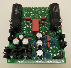 DIY PCB Board OTL Tube Headphone Amp Aikido White Cathode Follower 6SN7 6BX7