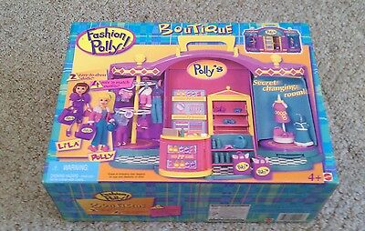 Vintage Fashion Polly Boutique 1999 Bluebird Toys MIB box NIB NOS Complete
