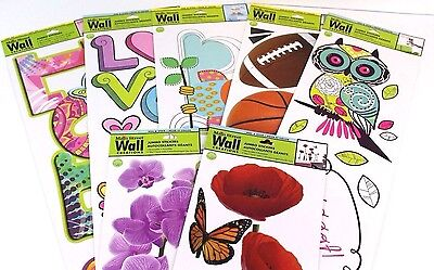 - Removable Jumbo Wall Stickers by Main Street Wall Creations NEW (Select Design)