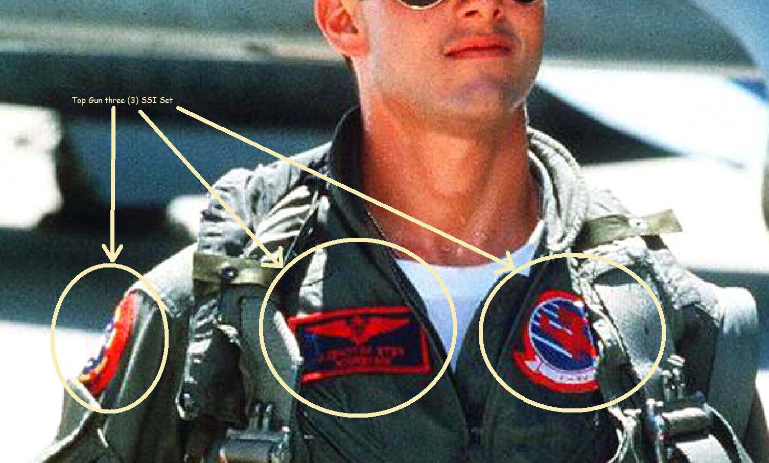 as seen on movie topgun top gun pete mitchell flight suit