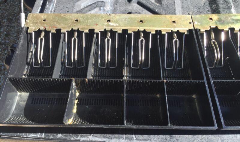Lot Of 2  Cash Drawer Money Tray / Cash Register tray