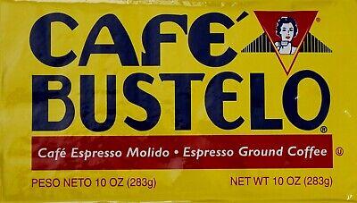 Cafe Bustelo Espresso Ground Coffee Latin-Style Dark Roast, 10 Ounce Espresso Roast Ground