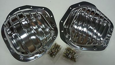 Polished Aluminum Ford Super Duty F-250 F-350 & Excursion Differential Cover Kit