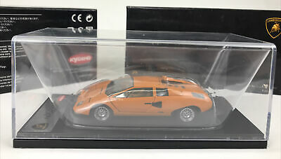 Kyosho Lamborghini Contach LP400: Die Cast Model 1.43 Scale MM-MG
