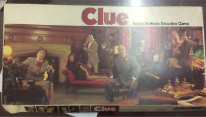 Vintage Clue Board Game Copyright 1949/1950