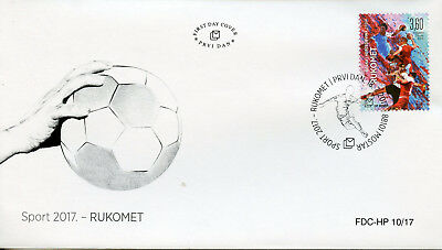 Bosnia & Herzegovina 2017 FDC Handball 1v Set Cover Sports Stamps
