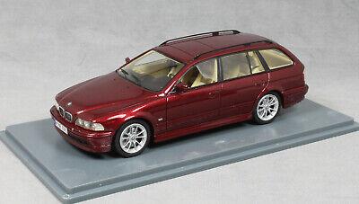Neo Models BMW 520i Touring in Dark Red Metallic 2002 43301 1/43 NEW