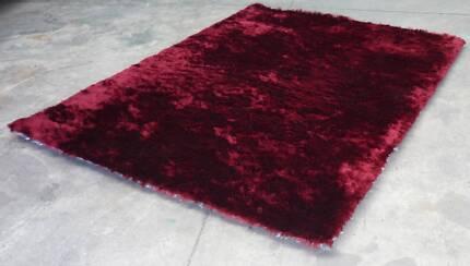 Brand New * Silky Shaggy Floor Rug Carpet 190x280cm Thomastown Whittlesea Area Preview