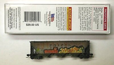 Mtl Micro Trains 96110 Frisco Slsf 72492 Fw Factory Weathered