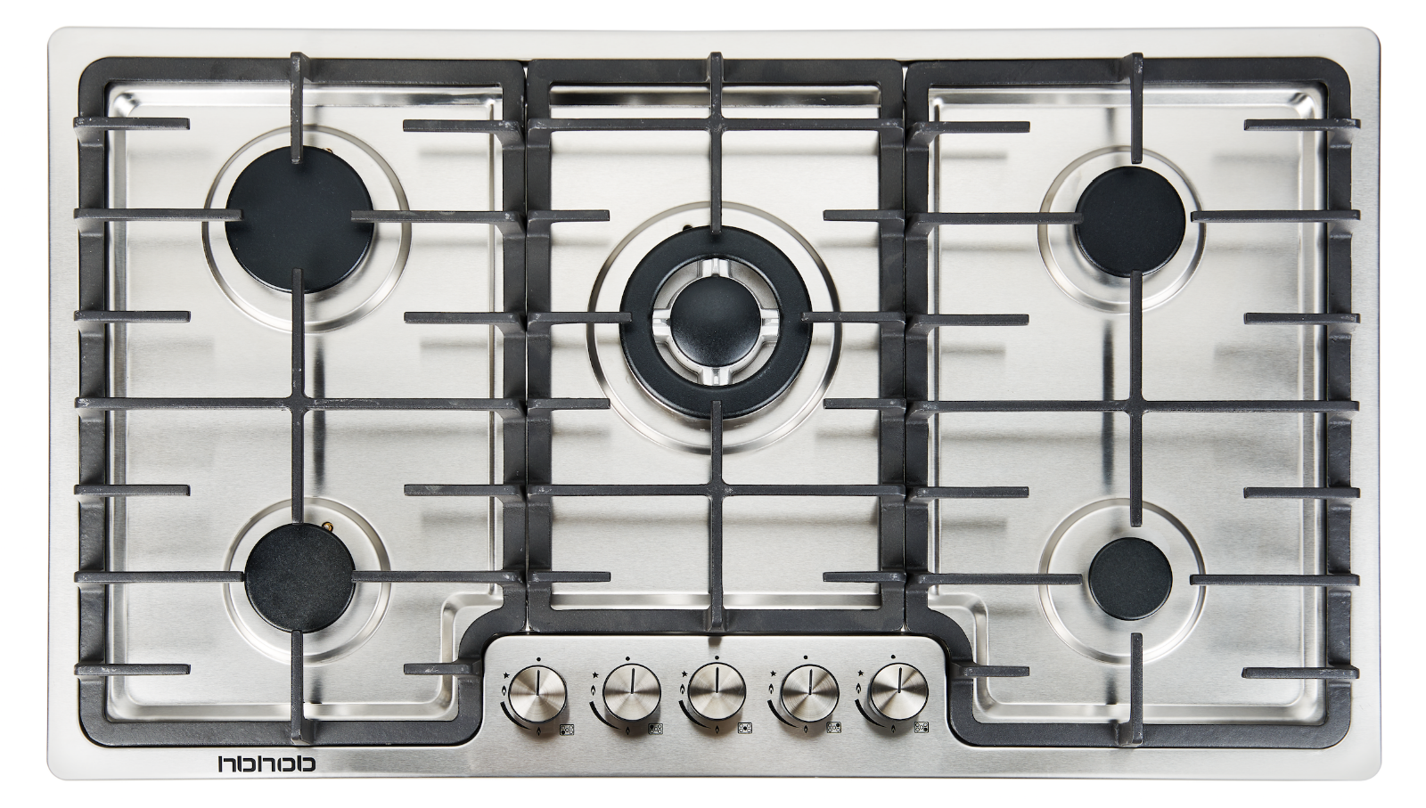 "36"" Built in Gas Cooktop 5 Burner Stainless Steel LPG/NG Gas"