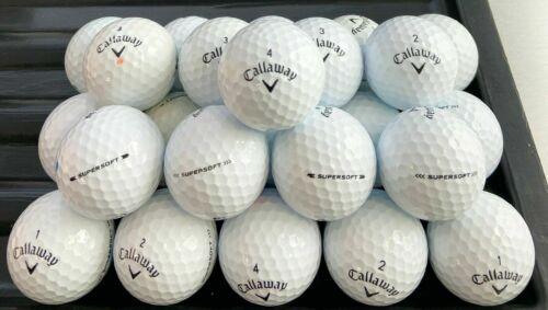 24 Callaway Supersoft  5A(AAAAA)Golf Balls