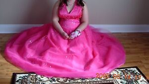 Pink Alfred Angelo prom dress