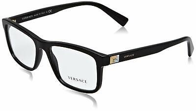 Versace Men's VE3253 Eyeglasses 55mm Black 55/17/145