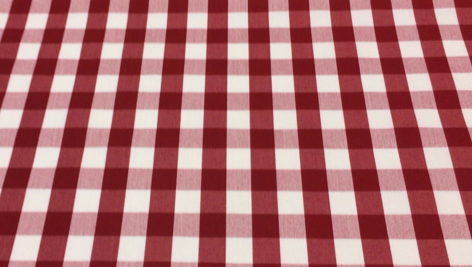 WAVERLY PICNIC RED WHITE CHECKER #53242 MULTIUSE FABRIC BY T