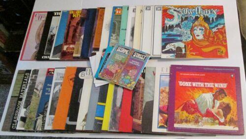 HUGE Mixed Lot of 38 Vintage Vinyl Record LP