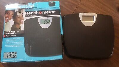 New (Other). Health O Meter Weight Tracking Digital Scale With Plastic Platform.