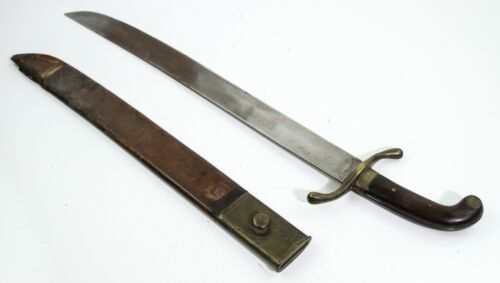 ANTIQUE SPANISH AMERICAN WAR ARTILLERY TROOPER SHORT SWORD