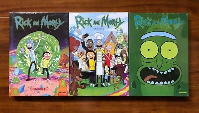 Rick And Morty Complete Series Seasons 1  2  And 3 Brand New Dvd Set
