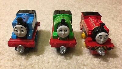 2013 Thomas Friends Lot of 3 Train Engine Diecast Toys Thomas Percy Victor Hooks