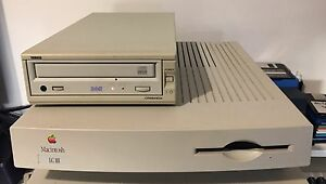 Apple Macintosh LCIII & Yamaha SCSI CD-RW drive Kilsyth Yarra Ranges Preview
