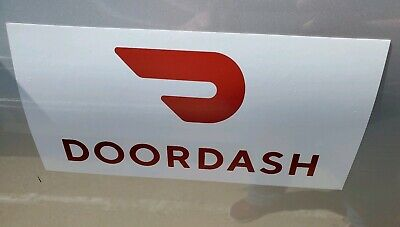Doordash Car Magnet Magnetic Auto Truck Removable Signs