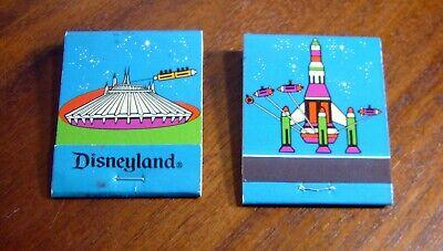 1 Disneyland Vintage Unused Matchbook Tomorrowland Rocket 1970 Unused Disney