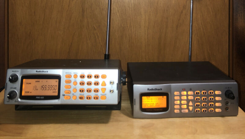 RadioShack Pro-163 And Pro-433 scanners