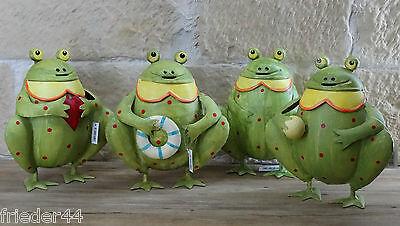 Spardose Frosch Blech Gall & Zick Sparschwein Dekofigur Geldgeschenk TH5124