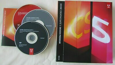 Adobe CS5 Design Premium Window Creative Suite 5 - PhotoShop Acrobat Dreamweaver