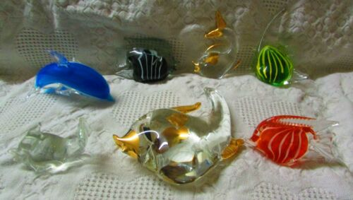 Lot Of Glass Fish