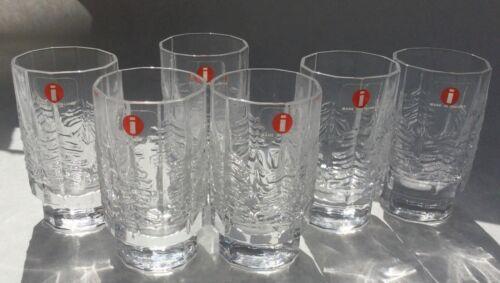6 Iittala KUUSI SHOT GLASSES NEW WITH TAGS
