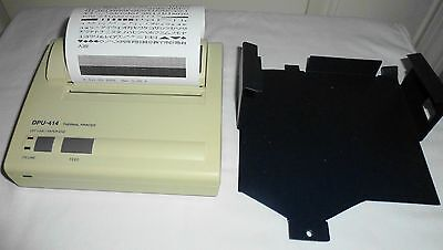 Citizen Dpu-414 Portable Pos Thermal Printer W Mount Bracket Parallel Cable