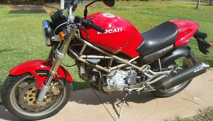 Ducati Monster 900m 1995 7400kms may Swap or Trade Blackwater Central Highlands Preview