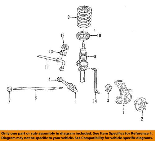 FORD OEM 99-03 Windstar Front-Lower Control Arm 1F2Z3078AA   eBayeBay
