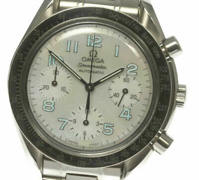 OMEGA Speedmaster 3802.71.53 Automatic Shell dial Ladies Wrist Watch(a)_483134