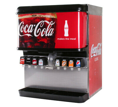 8-flavor Ice Beverage Soda Fountain System Remanufactured