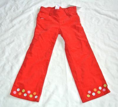 Gymboree Coil Dot Corduroy Pant Red Cozy Cutie 4T NWT Gymboree Corduroy Pant