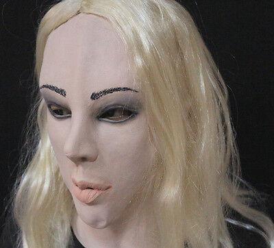 Weiblich Latex Maske Halloween Kostüm Masker Living Puppen - Promi Halloween Kostüm