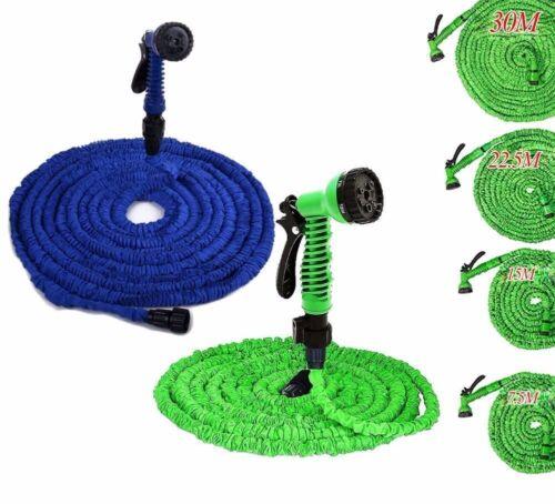 Flexibler Gartenschlauch bis 15m dehnbar Flexschlauch Bewässerung Wasserschlauch