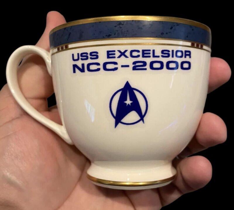 Star Trek Excelsior Tea Cup Prop