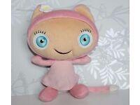 """Waybuloo De Li 10"""" Pink Talking Soft Toy"""