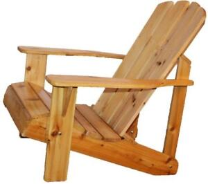 Canadian Made Weather Resistant Wood Patio Deck Garden Adirondack Muskoka Chair Furniture - March SALE! Two Weeks Left!!