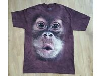 The Mountain Classic Chimp Face T-Shirt XL - NEW & UNUSED