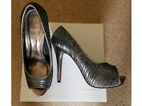 Silver/Pewter Shoes