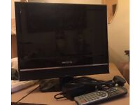 "TWO 16""& 18.5 TVs prices on ad - integral DVD players. Excellent condition. Can be seen working."