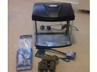 Fish tank with accessories (cold water, 28 l)