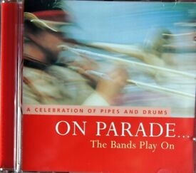 On Parade… The Bands Play On - A Celebration of Pipes and Drums [CD]