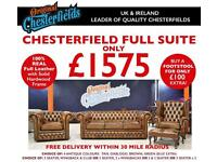 Brand New Chesterfield 3 Piece Suite