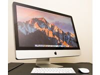 27-inch iMac (Mid 2011) with Apple wireless mouse and keyboard - Excellent condition