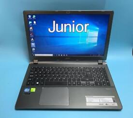 Acer i5 UltraFast 480GB SSD, 12GB Ram, HD High End Laptop, Gaming NVIDIA GT720M, Immaculate